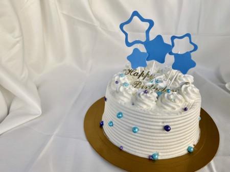 星星花式蛋糕