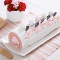草莓歐式長條蛋糕