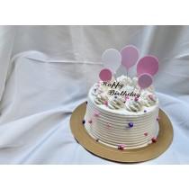 氣球花式蛋糕