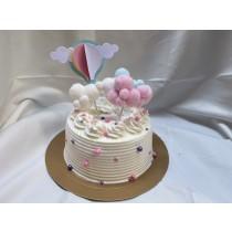雲朵熱氣球花式蛋糕